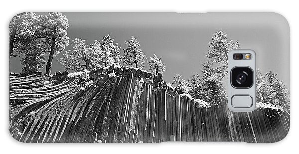 Devil's Postpile - Frozen Columns Of Lava Galaxy Case