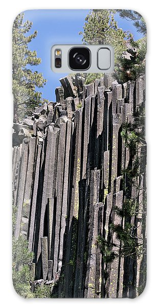 Devils Postpile National Monument - Mammoth Lakes - East California Galaxy Case