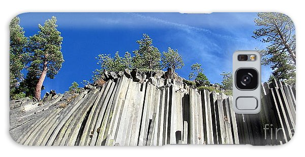 Devils Postpile National Monument Galaxy Case by Irina Hays