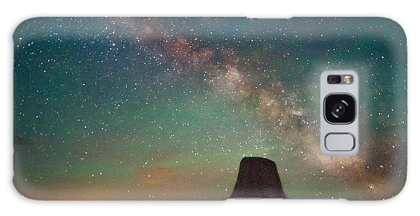 Devils Tower Lights Galaxy Case
