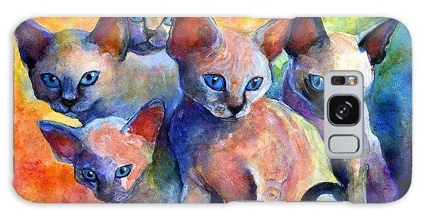Devon Rex Kitten Cats Galaxy Case