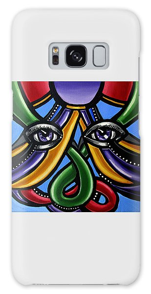 Colorful Eye Art Paintings Abstract Eye Painting Chromatic Artwork Galaxy Case