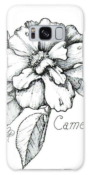 Dew Kissed Camellia Galaxy Case