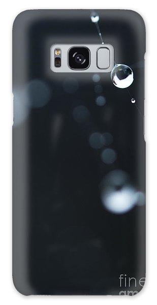 Dewdrops On Cobweb 004 Galaxy Case