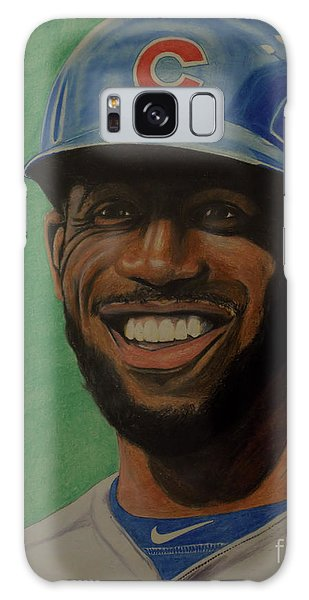 Dexter Fowler Portrait Galaxy Case