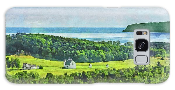D. H. Day Farmstead At Sleeping Bear Dunes National Lakeshore Galaxy Case