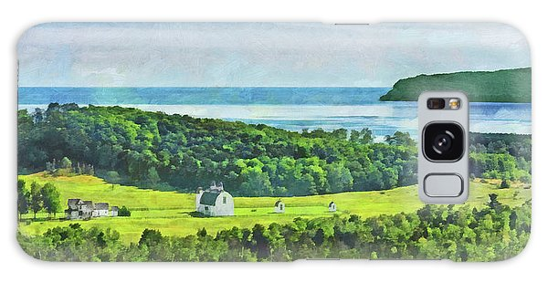 Galaxy Case featuring the digital art D. H. Day Farmstead At Sleeping Bear Dunes National Lakeshore by Digital Photographic Arts