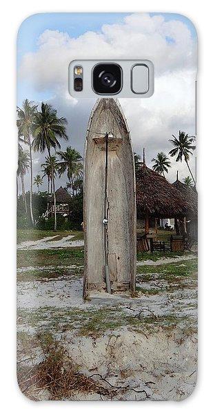 Exploramum Galaxy Case - Dhow Wooden Boat As A Beach Shower by Exploramum Exploramum