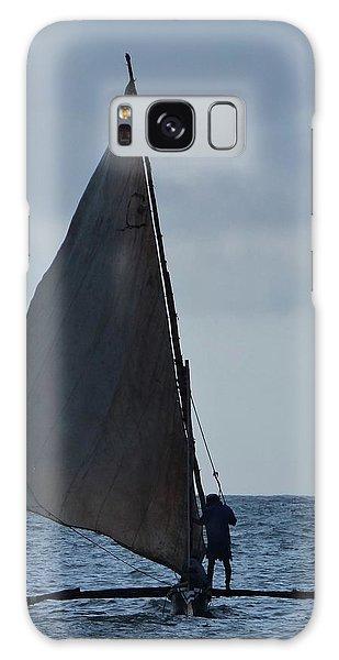 Exploramum Galaxy Case - Dhow Wooden Boats In Sail by Exploramum Exploramum