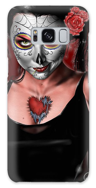 Dia De Los Muertos The Vapors Galaxy Case