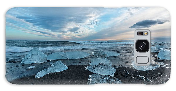 Diamond Beach Sunset  Galaxy Case