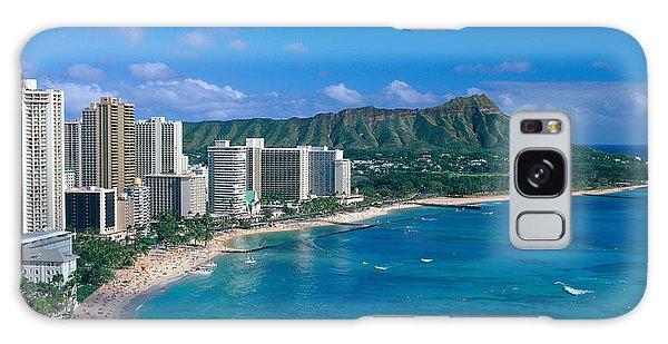 Diamond Head And Waikiki Galaxy Case