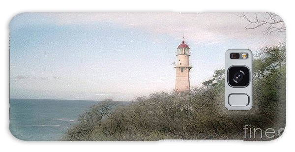Diamond Head Light House Galaxy Case