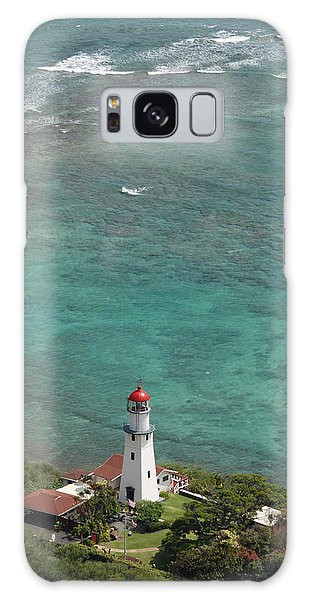 Diamond Head Lighthouse 3 Galaxy Case