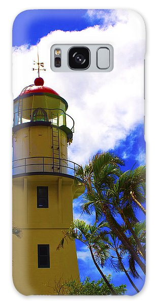 Diamond Head Lighthouse Galaxy Case