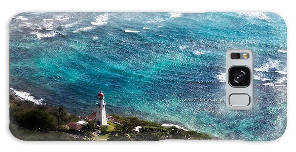 Diamond Head Lighthouse Galaxy Case