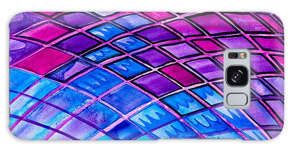 Diamonds And Lines Galaxy Case