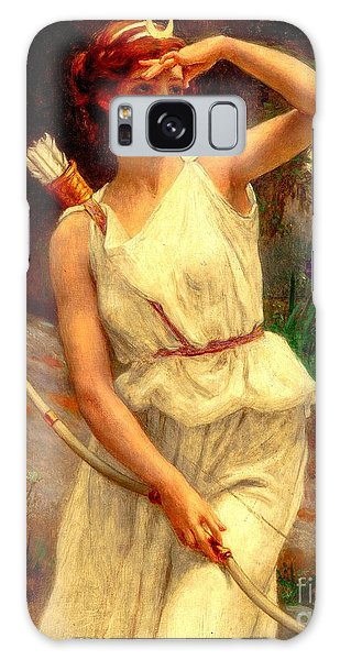 Diana The Huntress Guillaume Seignac  Galaxy Case