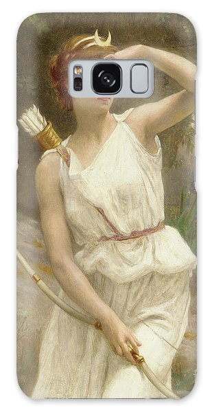 Mythological Galaxy Case - Diana, The Huntress by Guillaume Seignac