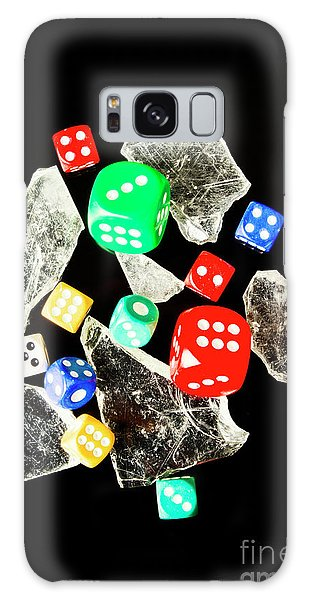 Gamble Galaxy Case - Dicing With Chance by Jorgo Photography - Wall Art Gallery