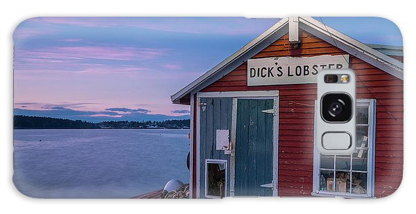 Dicks Lobsters - Crabs Shack In Maine Galaxy Case