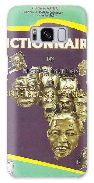 Dictionary Of Negroafrican Celebrities 1 Galaxy Case by Emmanuel Baliyanga