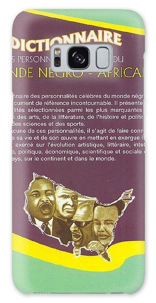 Dictionary Of Negroafrican Celebrities 2 Galaxy Case by Emmanuel Baliyanga