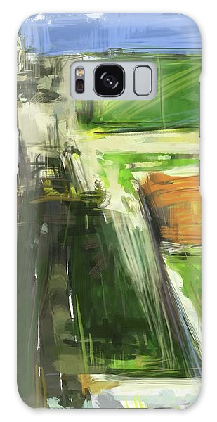 The Sky Galaxy Case - Diebenkorn Homage by Russell Pierce