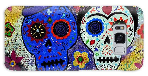 Diego Rivera And Frida Kahlo Dia De Los Muertos Galaxy Case