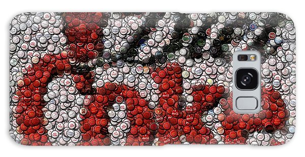 Diet Coke Bottle Cap Mosaic Galaxy Case by Paul Van Scott