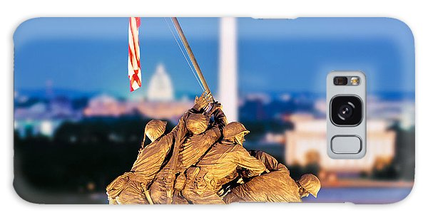 Digital Composite, Iwo Jima Memorial Galaxy Case