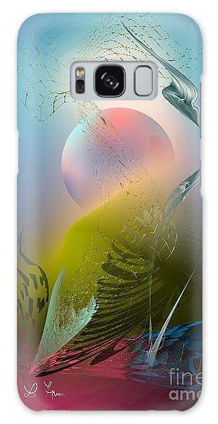 Digital Garden 4 Galaxy Case