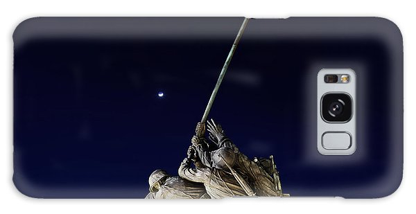 Digital Liquid - Iwo Jima Memorial At Dusk Galaxy Case