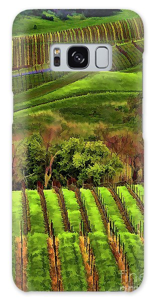 Enhanced Stunning Napa Valley Vineyards Vibrant  Galaxy Case