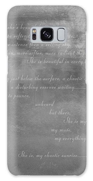 Digital Poem Galaxy Case