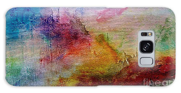1a Abstract Expressionism Digital Painting Galaxy Case