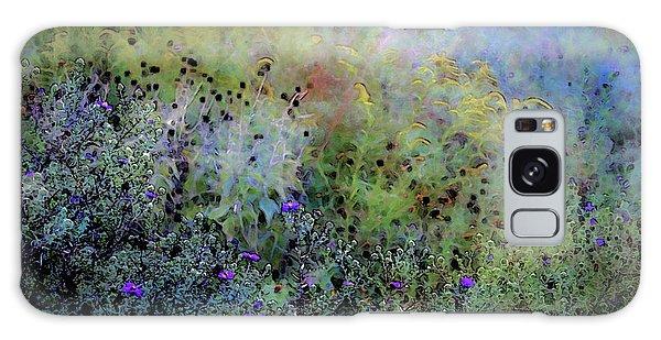 Digital Watercolor Field Of Wildflowers 4064 W_2 Galaxy Case