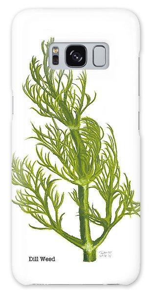 Dill Plant Galaxy Case