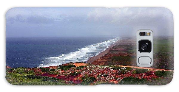 Flowering Beach Point Reyes Lighthouse Bodega Bay Galaxy Case