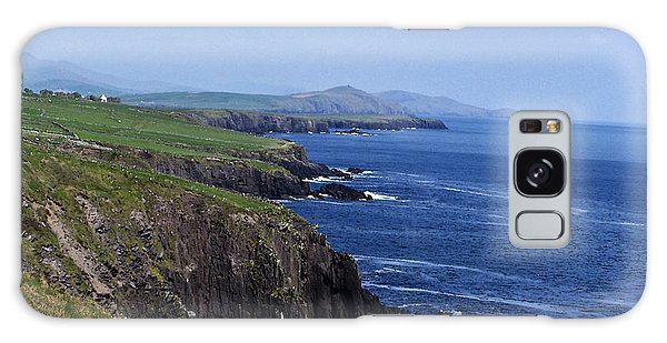 Dingle Coast Near Fahan Ireland Galaxy Case