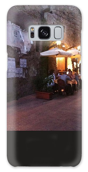 Dining In Tuscany Galaxy Case by Carol Sweetwood