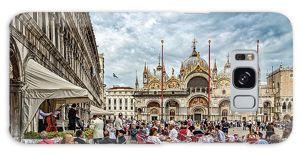 Dining On St. Mark's Square Galaxy Case