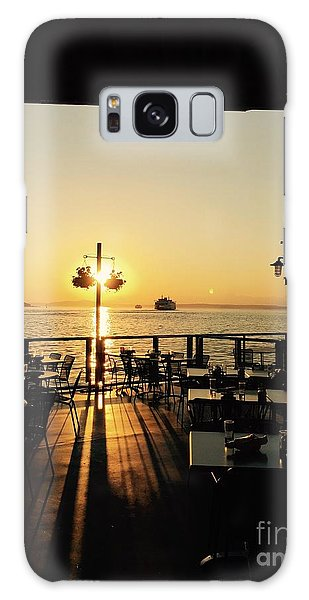 Dinner On The Water Galaxy Case