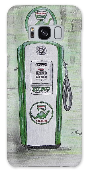 Dino Sinclair Gas Pump Galaxy Case