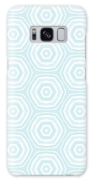 Dip In The Pool -  Pattern Art By Linda Woods Galaxy Case