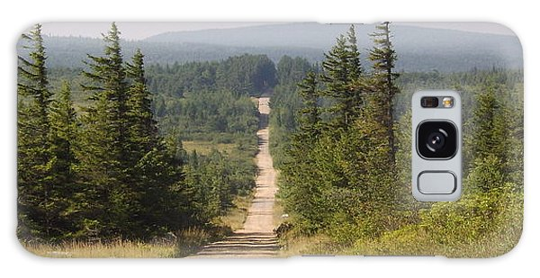 Dirt Road To Dolly Sods Galaxy Case