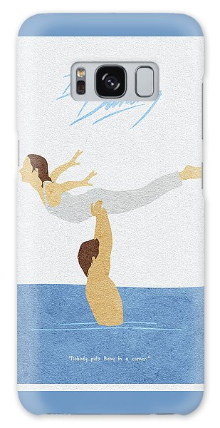 Galaxy Case featuring the painting Dirty Dancing by Inspirowl