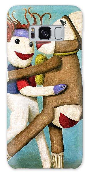 Dirty Socks Dancing The Tango Galaxy Case by Leah Saulnier The Painting Maniac