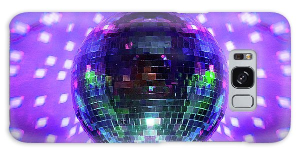 Disco Ball Purple Galaxy Case by Andee Design