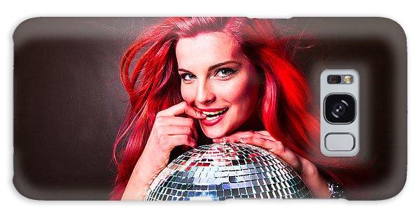 Disco Smile Galaxy Case